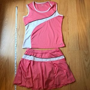 BCG Tennis Top/Skirt Size M